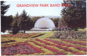 Sioux City Iowa Grand View Park Bandshell