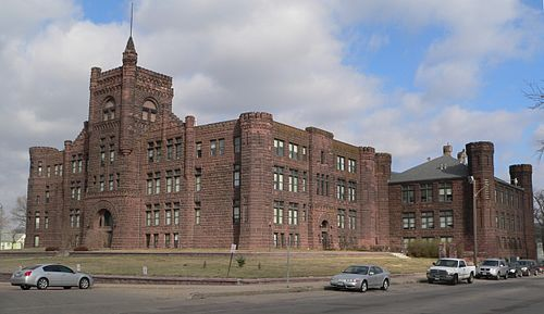 Central high school in Sioux City Iowa The Castle On The Hill